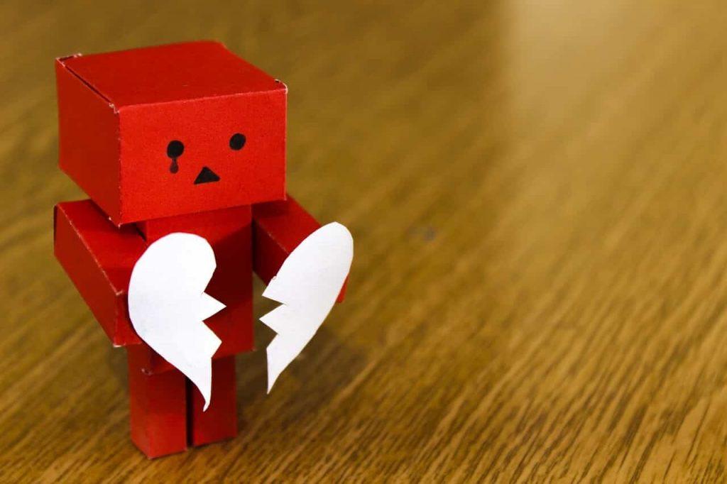bangkit dari patah hati